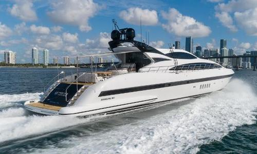 Image of Mangusta Mediterranean Sport Yacht for sale in United States of America for $3,395,000 (£2,652,468) Hallandale Beach, FL, United States of America