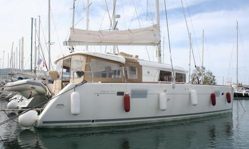 Image of Lagoon 450 for sale in Greece for €425,000 (£374,347) Lefkas, Greece