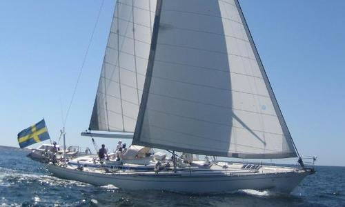 Image of Nautor's Swan Swan 61-006 lifting keel for sale in Sweden for €190,000 (£166,809) Malmo, Sweden