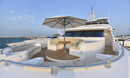 Image of Majesty Yachts Majesty 135 for sale in United Arab Emirates for $9,750,000 (£7,864,679) Umm Al Quwain, United Arab Emirates
