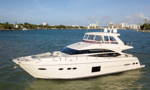 Image of Princess Flybridge 72 Motor Yacht for sale in United States of America for $2,495,000 (£2,005,885) Miami Beach, FL, United States of America