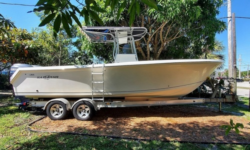 Image of Sailfish 266CC for sale in United States of America for $57,800 (£44,129) Lake Park, Florida, United States of America