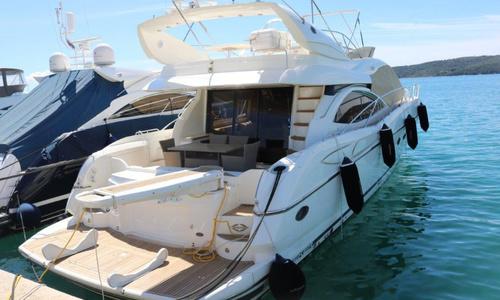 Image of Sunseeker Manhattan 64 for sale in Croatia for €395,000 (£360,001) Trogir, (CRO), Croatia