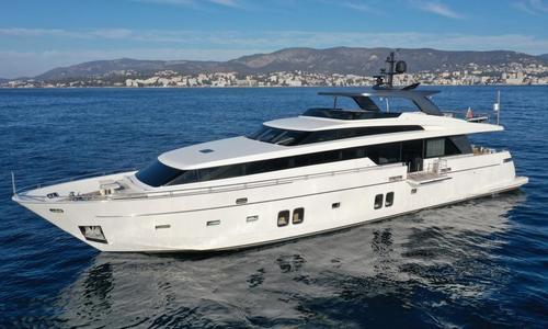 Image of Sanlorenzo Sl104 for sale in Spain for €5,400,000 (£4,883,696) Palma de Mallorca, Spain
