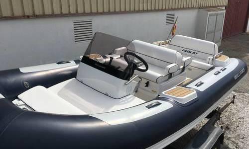 Image of Williams DIESELJET 445 for sale in Spain for €58,750 (£52,650) Menorca, Spain