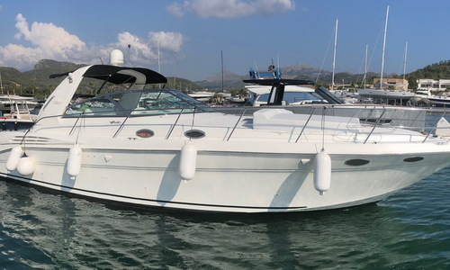Image of Sea Ray 400 DA Diesel for sale in Spain for €99,900 (£91,048) Mediterranean Majorca, Spain