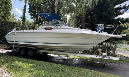 Image of Sea Ray Laguna 24 Flush Deck Cuddy for sale in United States of America for $15,000 (£10,603) Miami, Florida, United States of America