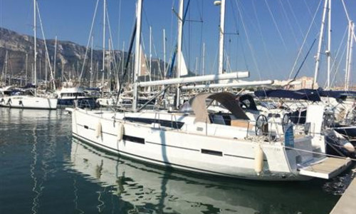 Image of Dufour Yachts 520 Grand Large for sale in Spain for €299,000 (£271,714) Port Balis, , Spain