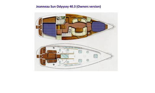 Image of Jeanneau Sun Odyssey 40.3 for sale in Greece for €78,000 (£70,802) Preveza, , Greece