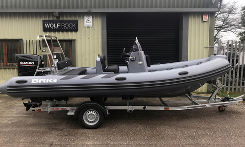 Image of Brig Navigator 570 Custom Sport - NEW 2020 - ORCA Hypalon for sale in United Kingdom for £34,200 South West, United Kingdom