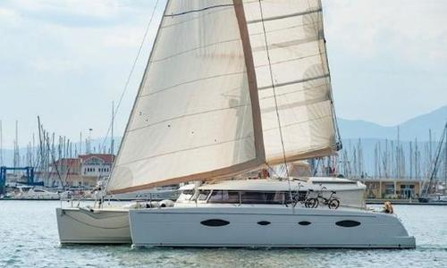 Image of Fountaine Pajot Salina 48 for sale in Greece for €375,000 (£333,277) Lefkas, Greece