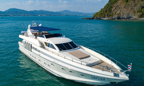 Image of Posillipo Technema 82 for charter in Thailand from €20,000 / week Chalong Pier, Thailand