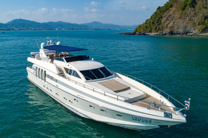 Posillipo Technema 82 for charter in Thailand from €20,000 / week