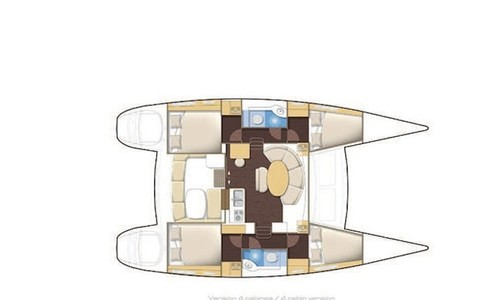 Image of Lagoon 380 for sale in Spain for £270,000 Spain