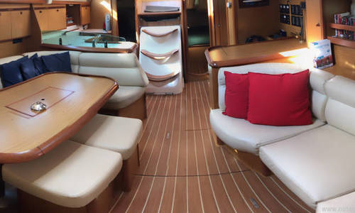 Image of Jeanneau Sun Odyssey 45 for sale in Spain for €89,900 (£82,101) Valencia, Spain