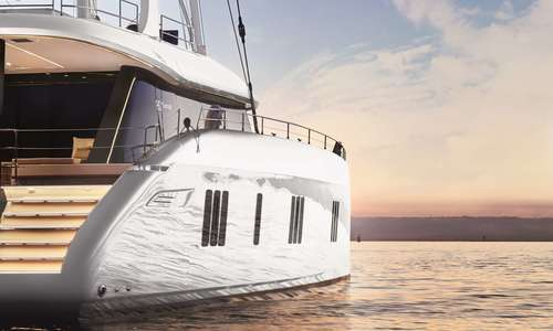 Image of Sunreef Yachts ABOVE for charter in  from $70,000 / week ,