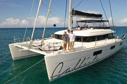 Lagoon CALLISTA for charter in  from $30,000 / week