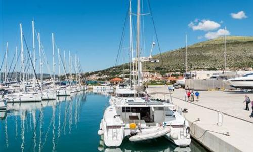 Image of Fountaine Pajot Helia 44 for sale in Croatia for €265,000 (£239,663) Trogir, Croatia