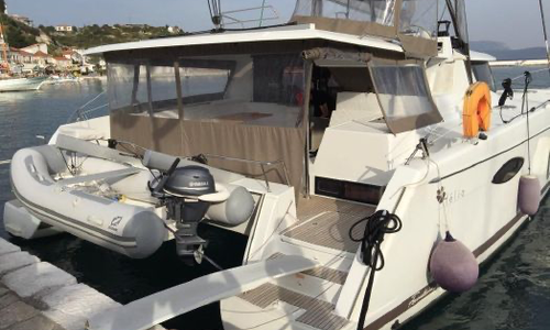 Image of Fountaine Pajot Helia 44 for sale in  for €425,000 (£365,887) Turkey,