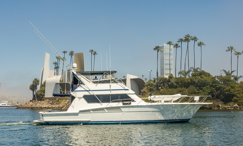 Image of Hatteras Convertible for sale in United States of America for $180,000 (£138,000) Long Beach, CA, United States of America