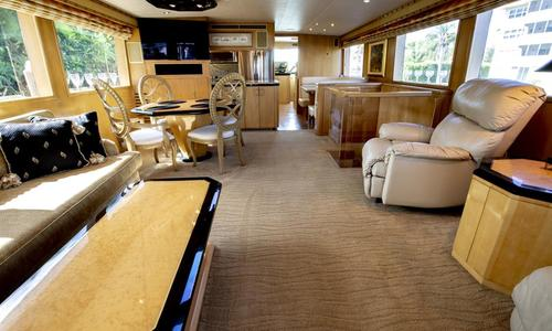 Image of Hatteras Sport Deck Motoryacht for sale in United States of America for $799,000 (£626,913) Ft. Lauderdale, United States of America