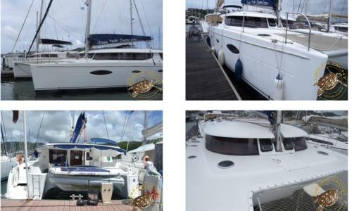 Image of Fontaine Pajot Salina 48 for sale in Saint Lucia for €238,000 (£214,329) Saint Lucia