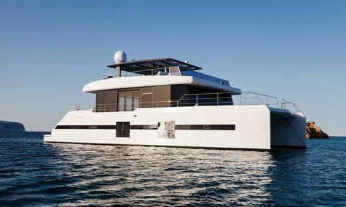 Image of Sunreef Yachts Supreme 68 Power for sale in Spain for €2,850,000 (£2,582,996) Barcelona, Spain