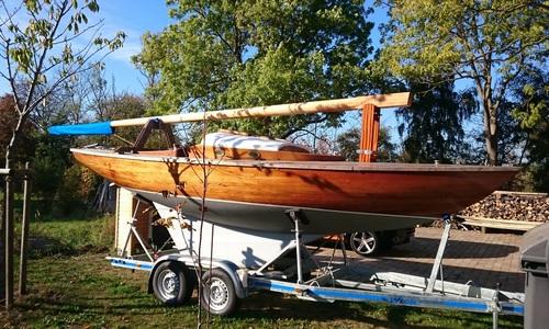 Image of Custom BB17 Keelboat for sale in United Kingdom for €10,500 (£9,625) Germany, United Kingdom