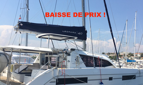 Image of Robertson and Caine Leopard 40 for sale in France for €329,000 (£294,523) Fréjus, , France