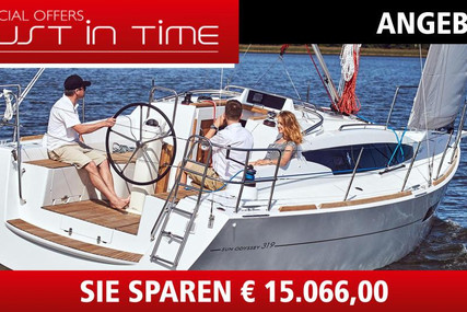 Jeanneau Sun Odyssey 319 for sale in Germany for €99,900 (£88,953)
