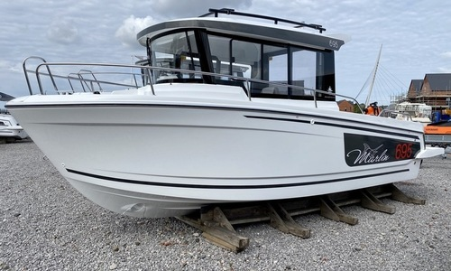 Image of Jeanneau Merry Fisher 695 Marlin Series 2 for sale in United Kingdom for £61,703 Wales, United Kingdom