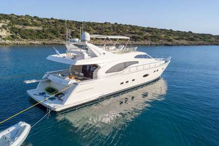 Ferretti ALSIUM for charter in  from €19,000 / week