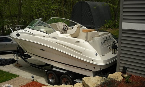 Image of Sea Ray 240 Sundancer for sale in United States of America for $64,000 (£51,242) Fall River, Wisconsin, United States of America