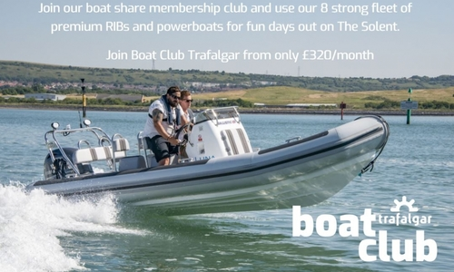 Image of Ballistic Rib 6.0 Boat Share Club Membership for sale in United Kingdom for P.O.A. United Kingdom
