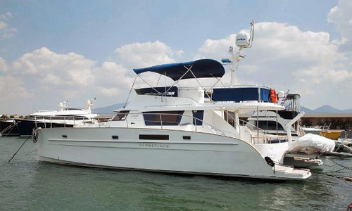 Image of Fountaine Pajot Cumberland 46 Maestro for sale in Spain for €443,750 (£407,151) Spain