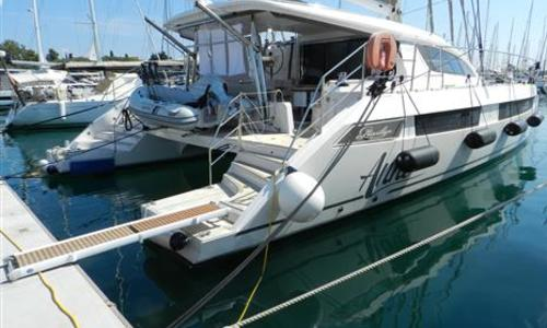 Image of Privilege Catamarans Series 5 for sale in Greece for €975,000 (£893,716) Greece
