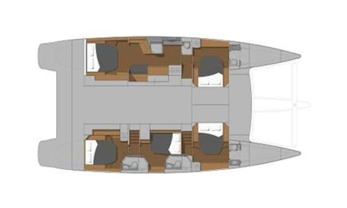 Image of Fountaine Pajot Ipanema 58 for sale in Spain for €995,000 (£904,200) Spain