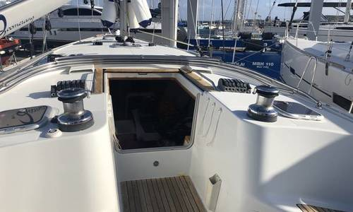 Image of Jeanneau Sun Odyssey 49i for sale in Italy for €135,000 (£123,298) Sardinia, Italy