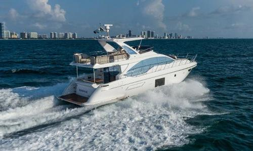 Image of Azimut Yachts 55 Flybridge for sale in United States of America for $1,550,000 (£1,188,924) Miami, FL, United States of America