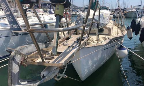 Image of Tayana 37 Bluewater Cruising Yacht for sale in Spain for €45,000 (£38,818) Port Ginesta, Barcelona, Spain