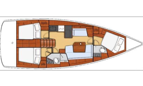 Image of Beneteau Oceanis 41.1 (2 Heads) for sale in Spain for £300,000 Spain