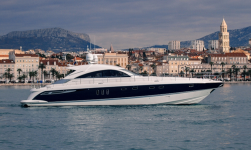 Image of Fairline Targa 62 for charter in Croatia from €19,600 / week Marina Lav, Croatia