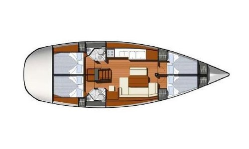 Image of Jeanneau - Sun Odyssey 44 for sale in Greece for £115,000 Greece