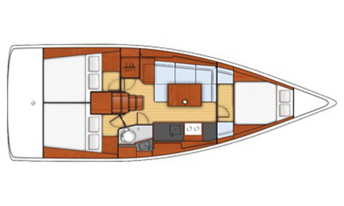 Image of Beneteau - Oceanis 38 for sale in Greece for £120,000 Greece