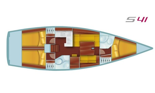 Image of AD Boats Salona 41 Performance for charter in Turkey from €2,040 / week Adaköy Marina, Turkey