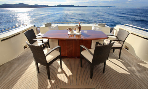 Image of Ferreti Yachts Ferretti 780 for charter in Croatia from €30,000 / week Marina D-Marin Borik, Croatia
