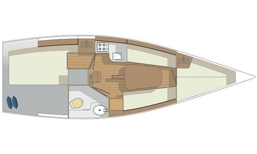 Image of Nautiner Yacht 30S Race for charter in Italy from €790 / week Marina di Navene, Italy