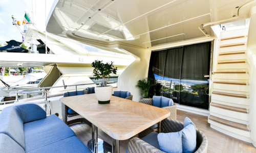 Image of Amer 92 for charter in Greece from €42,560 / week Marina Zeas, Greece
