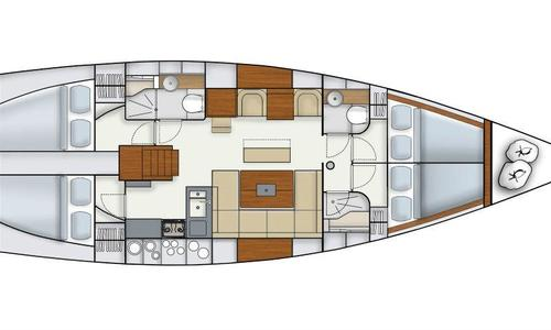 Image of Hanse 445 for sale in Croatia for £130,000 Croatia