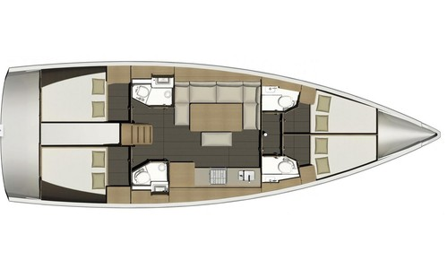 Image of Dufour Yachts 460 Grand Large for sale in Croatia for £150,000 Croatia